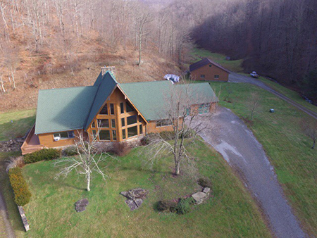 Aerial Drone Picture from Appalachian Home Inspections LLC by Dale Shockey
